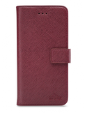 My Style Flex Wallet for Samsung Galaxy A12 Bordeaux